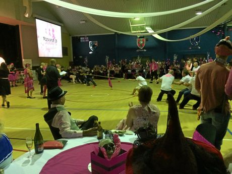 The Pink Halloween offered ticket holders plenty of fun, from betting on a tug-of-war team, to auctions, raffles and dancing.