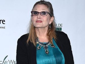 Leia looks like a 'fish with gills' says Carrie Fisher