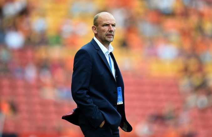 Perth Glory coach Kenny Lowe.