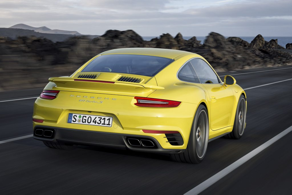 2016 Porsche Turbo. Photo: Contributed.