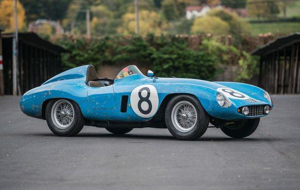 1955 Ferrari 500 Mondial. Photo: Contributed.