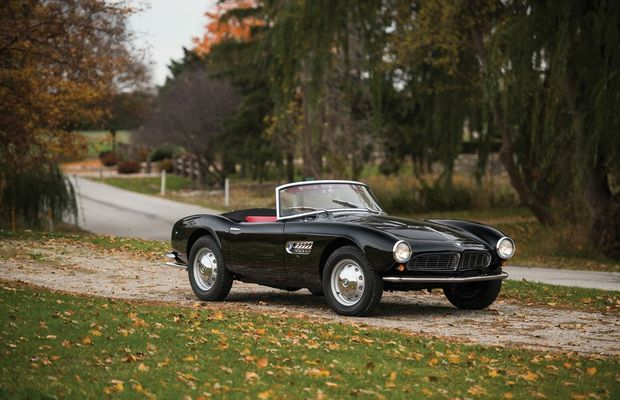 1959 BMW 507 Roadster. Photo: Contributed.