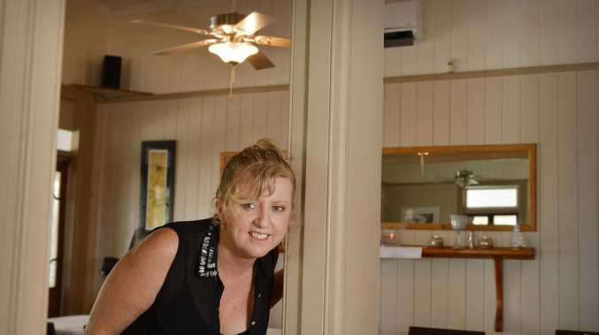 Owner of Kingston House Kim Jones said she 'ain't afraid of no ghost'.