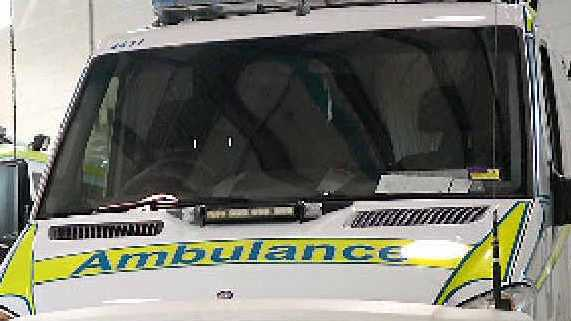 Ambulance crew called to help man impaled after fall from veranda.