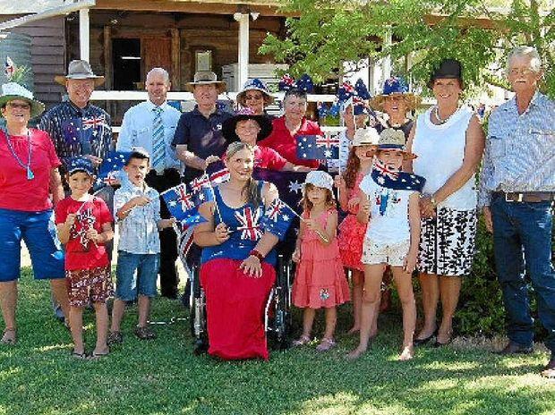 Australia Day Celebrations in Jandowae.
