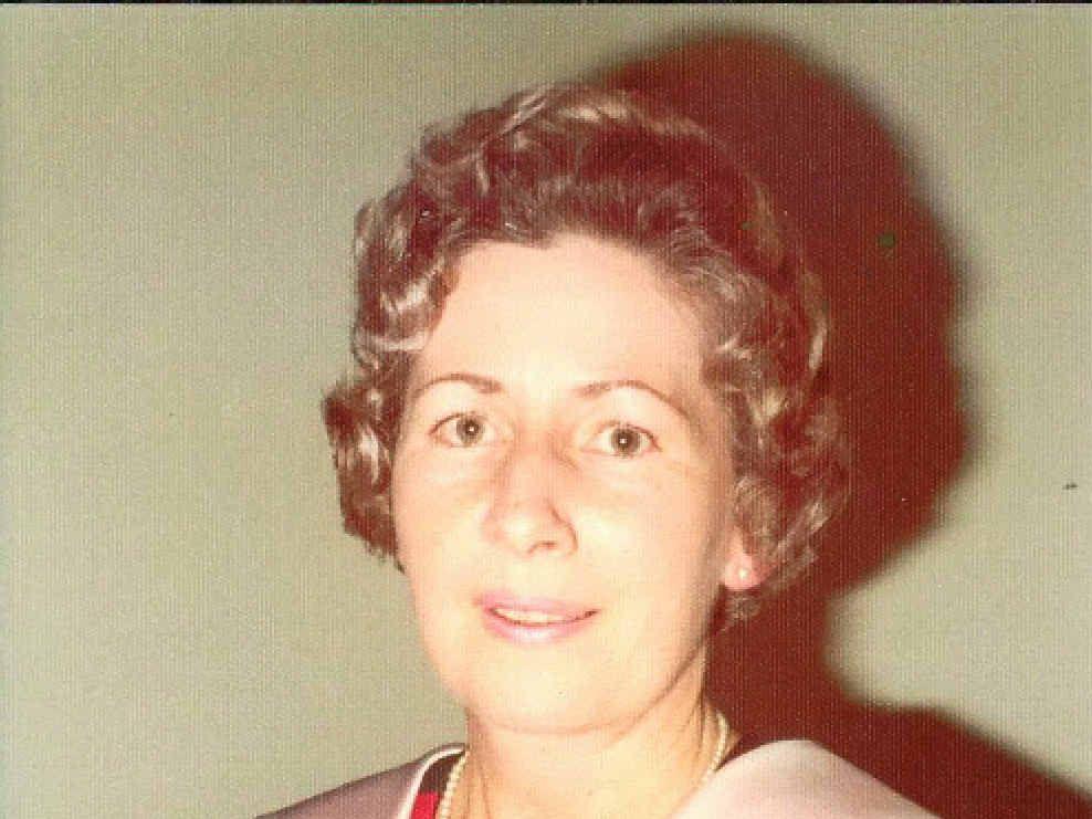 The late Miriam Hutchinson, Matron of Gympie Hospital, 1967-1985.