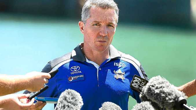IN DEMAND: North Queensland Cowboys coach Paul Green.