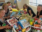 CHRISTMAS CHEER: The Casino Neighbourhood Centre and Brighter Futures team handed out their hampers and told the Northern Star the adopted families were lost for words from the generosity displayed.