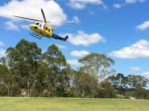 RACQ Careflight Visits School
