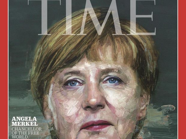 German chancellor named TIME Person of the Year
