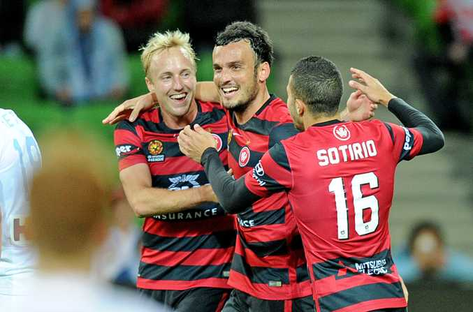 Western Sydney Wanderers Mark Bridge.