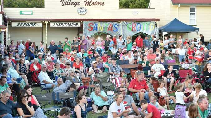 COMMUNITY SUPPORT: Hundreds turn up to the Carols in the Village at the Hervey Bay Historical Village & Museum.