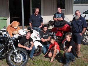 Riders roar in for toy run