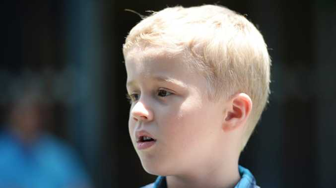 Autism Qld pupil Jack Simpson will be starting prep next year. Photo Allan Reinikka / The Morning Bulletin