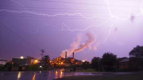 Storms across the Bundaberg Region Photo: contributed Jason Watts