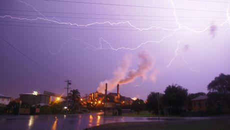 Storms across the Bundaberg Region Photo: contributed Jason Watts