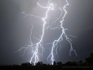 Gympie lightning