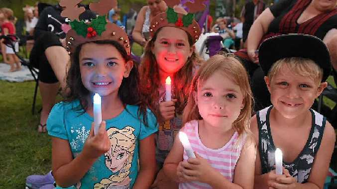 Carols by candlelight is on this weekend for both Hervey Bay and Maryborough.