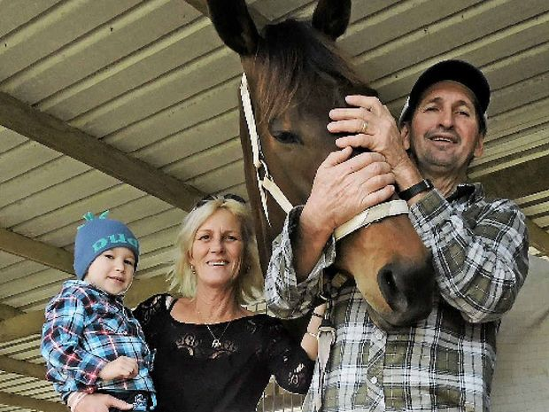 DEVASTATING NEWS: Russell Adair is one trainer set to feel the impact from Racing Queensland funding cuts.
