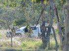 Man in his 50's dies in Burnett Hwy crash