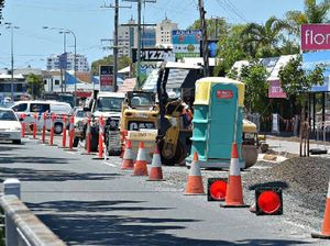 Bike path construction causes havoc for businesses