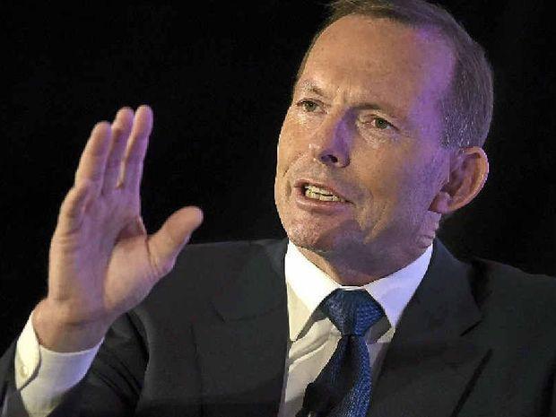 PLENTY TO SAY: Former prime minister Tony Abbott.
