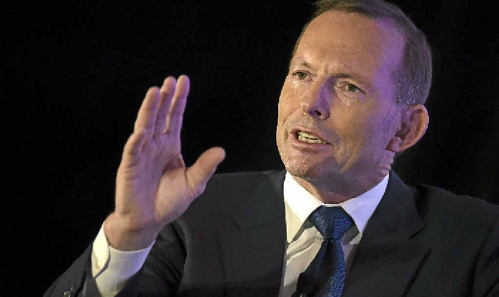PLENTY TO SAY: Former prime minister Tony Abbott.