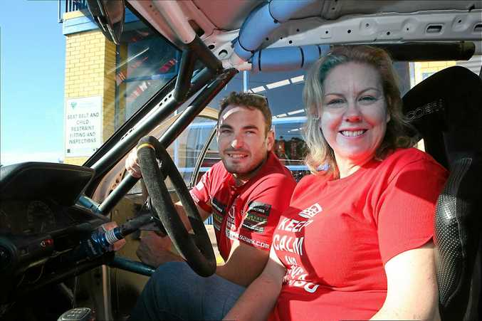 Kellie Pearce has received plenty of support from elite driver Nathan Quinn.