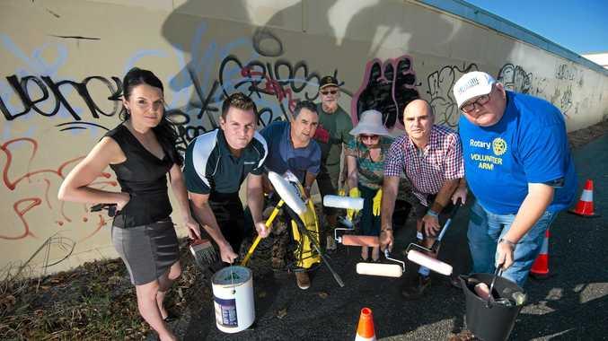 Council crackdown on graffiti