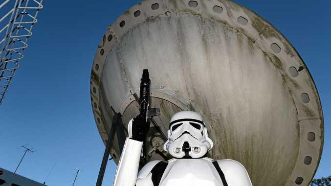 Imperial Stormtrooper Ratchet (aka Ben Gordon) from the Southern Cross Garrison 501st Legion.