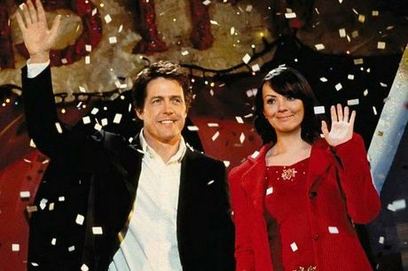 Even a Prime Minister can find love at Christmas. Hugh Grant and Martine McCutcheon in a scene from Love Actually.