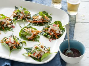 RECIPE: Asian crab salad with betel leaves