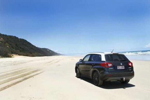 Suzuki Vitara GLX pictured at Noosa North Shore. Photo: Iain Curry