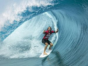 Head injury in warm-up forces Wright out of the Pipe Masters