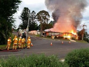 Community rallies after Kandanga Hotel burnt to ground