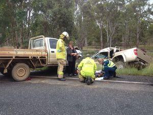CareFlight airlifts crash patients