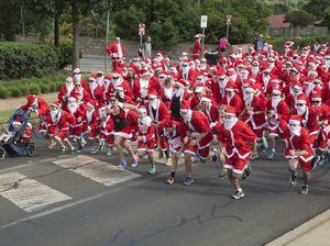 City's first Santa Fun Run