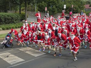 City's first Santa Fun Run
