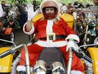 REVVED UP: Ron Devin takes part in the annual Ulysses Club Toy Run.