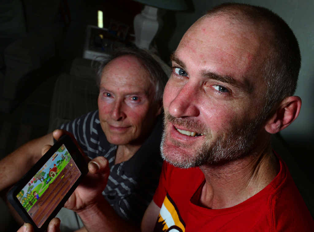 CREATION: Che Lindemann developed the 'Get that Gopher' App with the help of his Dad, Ray Lindemann.