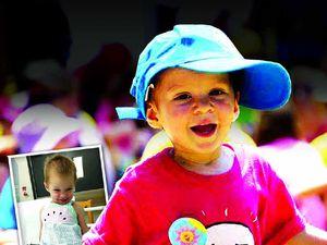 Brave little Avery's family struggles to fight illness
