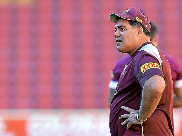 KANGAROOS-BOUND: With Mal Meninga (pictured) taking the national coaching job, who will take over the reins with Queensland?