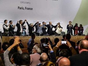 PARIS: Governments agree to historic new climate target