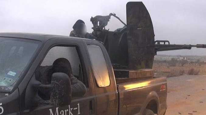 Mark Oberholtzer's former truck used by jihadis