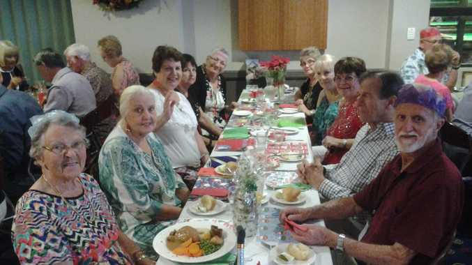 Some of our Forest Lake Fifty Plus Club members at our recent Christmas Party.