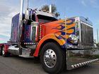 Retruck's custom built Optimus Prime Replica truck Photo Contributed