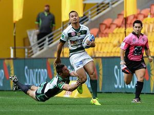 Barba plays his first Rugby 7s game in Darwin