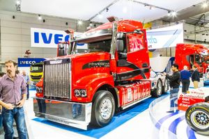 Iveco Powerstar at Brisbane Truck Show. Photo Keith Hawley