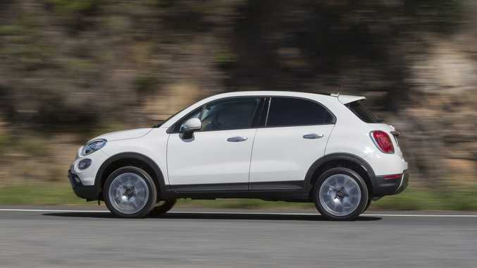 LITTLE ITALIAN: Fiat's new small SUV 500X arrives with four different models and in 2WD or AWD configuration.