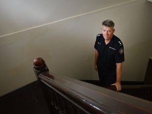 Gympie fire station has a ghost